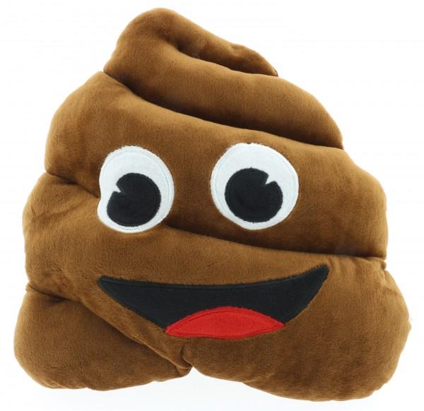 """Kissen """"Poo"""" XL Emoji 31cm aus Plüsch"""