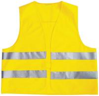 Warnweste für Kinder gelb EN 1150 reflektierend 3 - 12 Jahre
