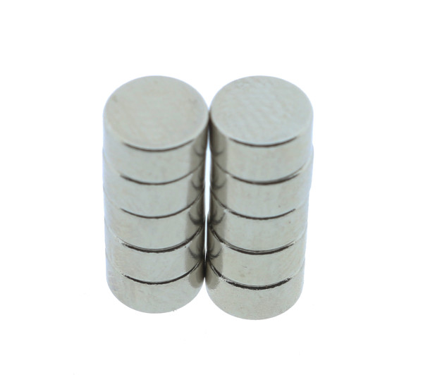 10 x Mini Powermagnete Ø 6mm x 3mm