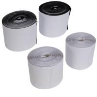 Klettbandrollen selbstklebend 100m x 5m weiß oder schwarz