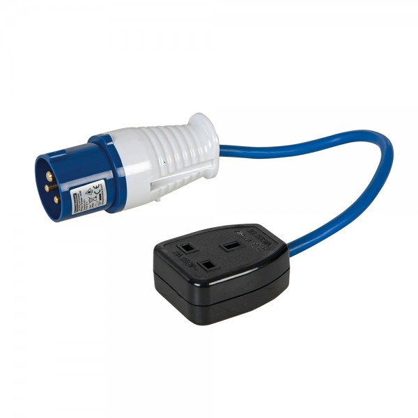 16-A auf 13-A (GB) Adapterkabel