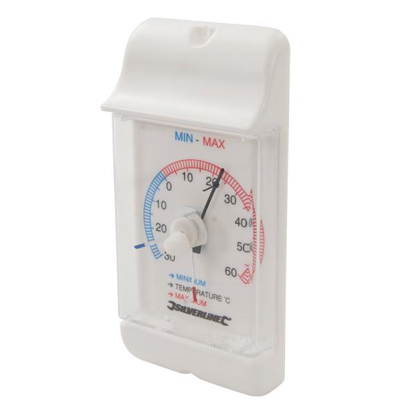 Thermometer mit Höchst-/Niedrigsttemperaturanzeige -30 bis +60 °C