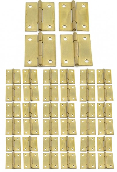 40 x Scharniere 50x38x1.3 mm