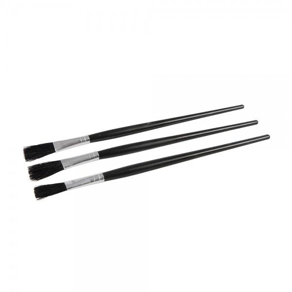 25 x Flussmittelpinsel 12 mm Schwarz