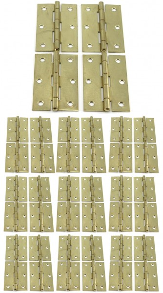 40 x Scharniere 89x56x1.7 mm