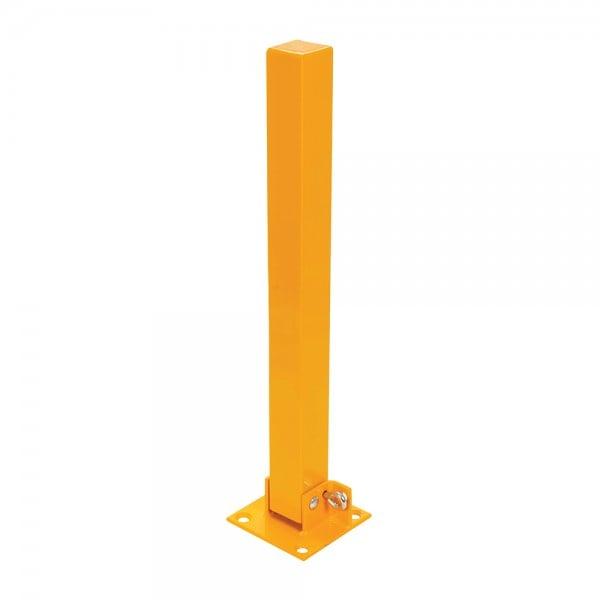 Absperrpfosten umklappbar 560 mm abschließbar