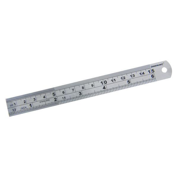 Stahlmaßstab 150 mm
