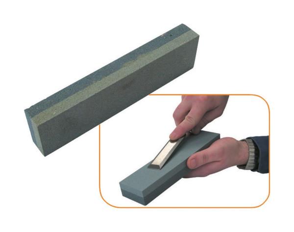 Abziehstein 150x50x25mm Schleifstein Wetzstein für Werkzeug grob und fein NEU