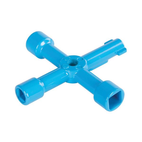 Universal-Kreuzschlüssel für Schaltschränke 70 mm