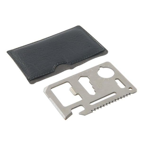Taschenwerkzeug 10-in-1 im Kreditkartenformat