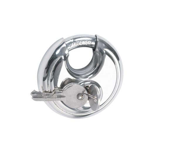 Rundbügelschloss / Vorhängeschloss 90mm mit 2 Schlüsseln
