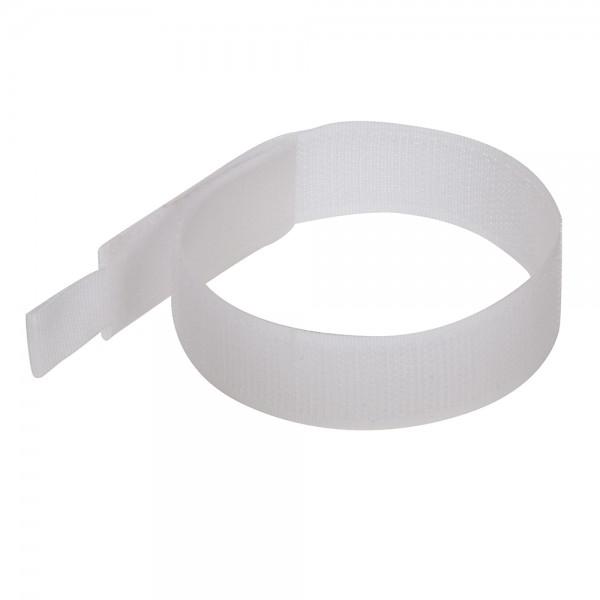 10 x Klettkabelbinder 300 mm weiß