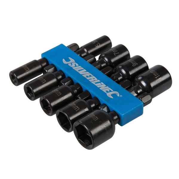 Steckschlüssel Set 5-12 mm magnetisch 1/4 Zoll 9-teilig